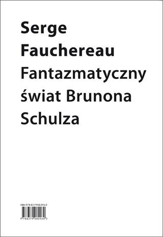 (e-book) Fantazmatyczny świat Brunona Schulza