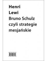 Strategie mesjaniczne Brunona Schulza