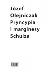 Pryncypia i marginesy Schulza. Eseje