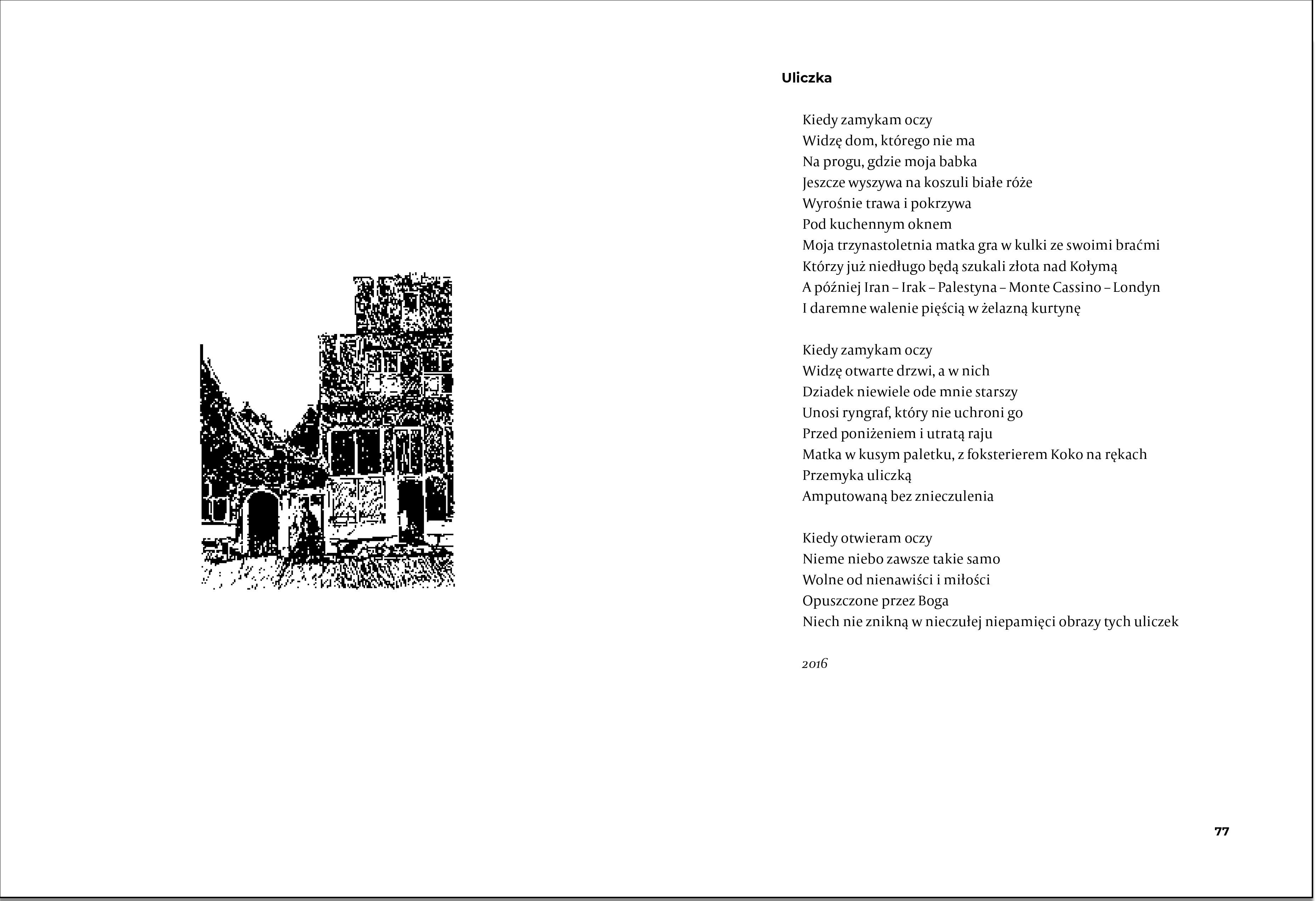 Czytająca list i inne wiersze