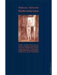 Goethe mniej znany. Przekłady i szkice