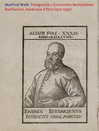Pożegnanie z Giovannim Bernardinem Bonifaciem, markizem d'Oria (1517–1597)