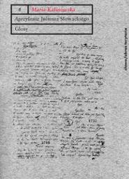 Agezylausz Juliusza Słowackiego. Glosy