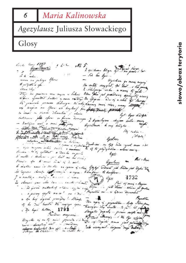 (e-book) Agezylausz Juliusza Słowackiego. Glosy