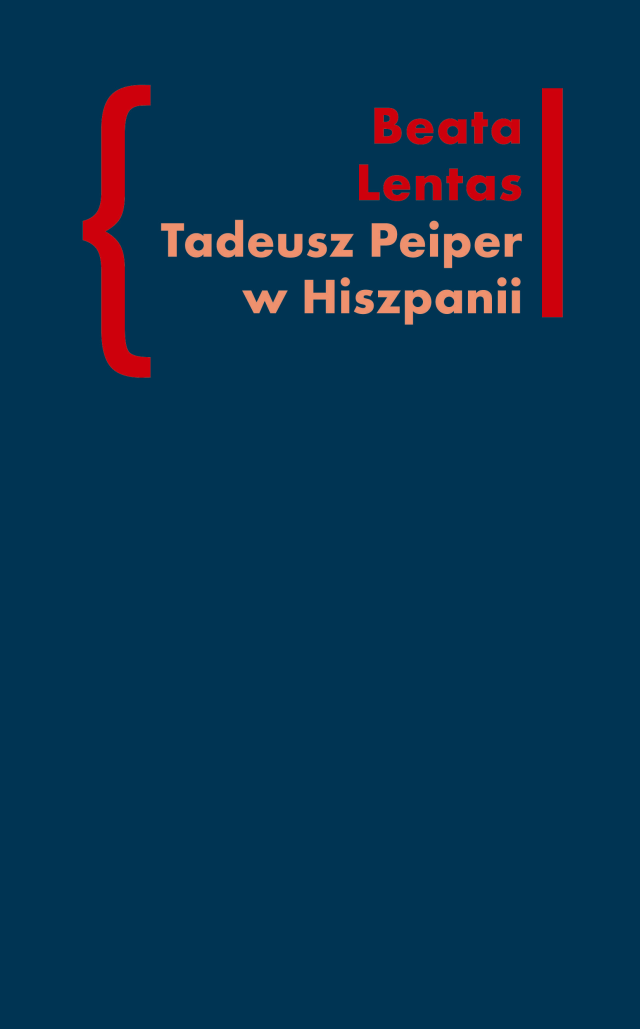 (e-book) Tadeusz Peiper w Hiszpanii