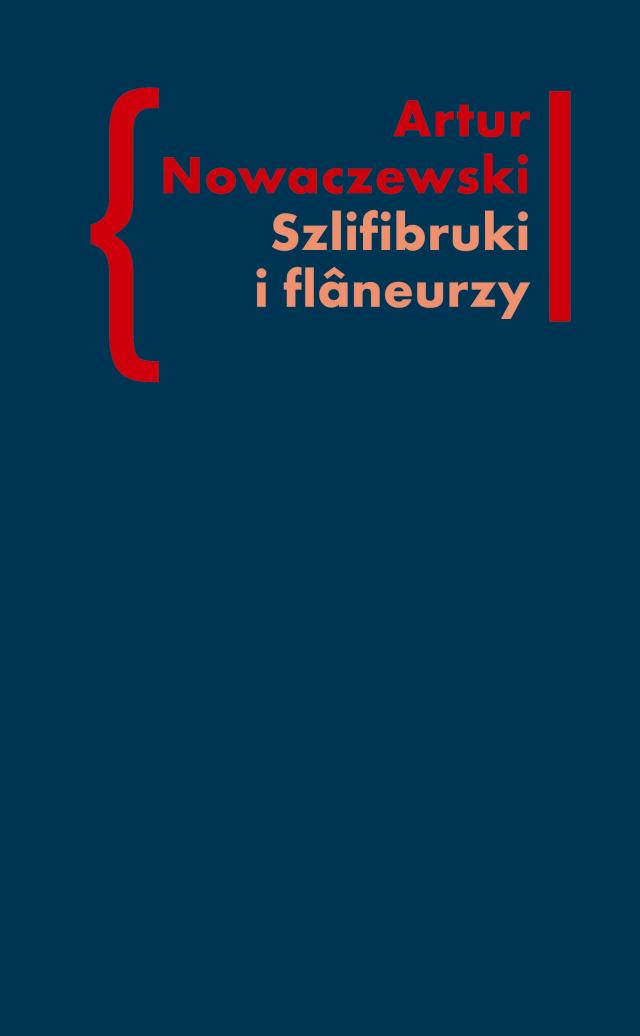 (e-book) Szlifibruki i flâneurzy. Figura ulicy w literaturze polskiej po 1918 roku