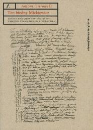 (e-book) Ten biedny Mickiewicz...