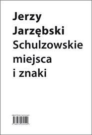 (e-book) Schulzowskie miejsca i znaki