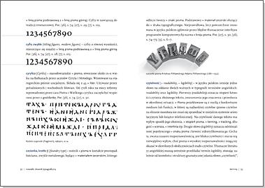 Niewielki słownik typograficzny