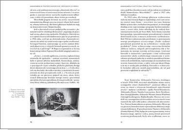 Teatr rosyjski XX wieku wobec tradycji. Kontynuacje, zerwania, transformacje