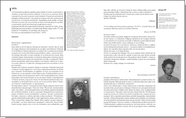 """""""Mao Star. Instynktowne zanikanie w przestrzeni"""". Listy i materiały do biografii Małgorzaty Starowieyskiej (1953-2006)"""