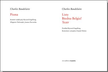 Pisma: Listy. Biedna Belgia! Teatr