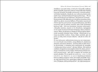 Bellmer albo Anatomia Nieświadomości Fizycznej i Miłości (wyd. 2)