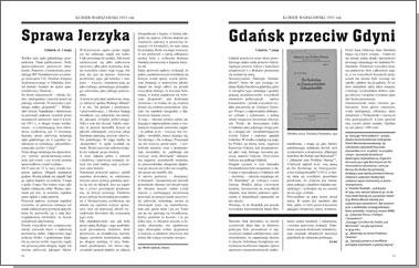 Gdańsk przed burzą. Korespondencja z Gdańska dla 'Kuriera Warszawskiego' t. 1: 1931-1934