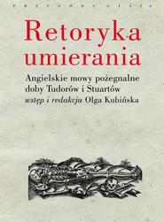 (e-book) Retoryka umierania
